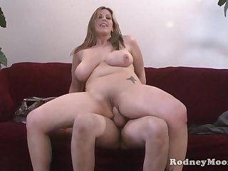 Kya Dakota Chubby MILF POV Charge from Together with Suck