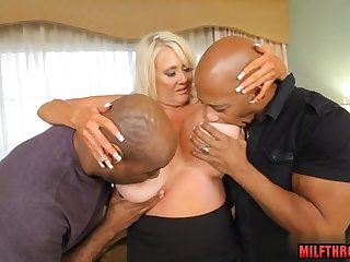 Big take charge wife interracial porn