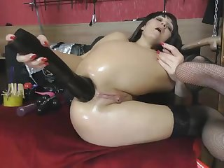 Batty Wet Ass Fisting - Keep in view in 4K HD
