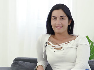 Hungarian hottie hungry be required of cock