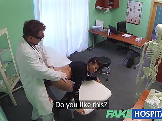 Fake Hospital Sexual treatment turns spectacular busty patient
