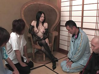 after pussy make mincemeat of a big vibrator is all that Sayoko Machimura wants