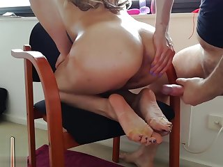 HandJoy * Hira's anal masturbation + cum mainly soles *request by holesnsoles