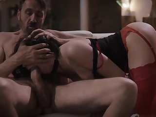 Brunette anal reamed by cheating husband