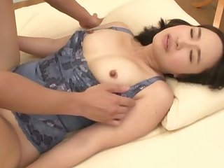 Japanese cutie Makimura Megumi loves alongside play with all of her toys
