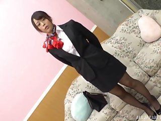 Uniformed Asian wants to satisfy friend's sexual kinky desires