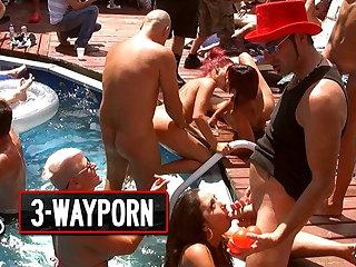3-Way Porn - Crazy group Sex, Orgy Fuck Parts