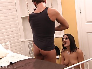Lyla blitz is a hot brunette with a sexy pussy