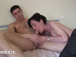 A Nasty Model Fucks Horny Thick-Dicker