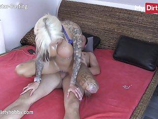 MyDirtyHobby - Tiro tattooed kermis gets cum all over her big tits