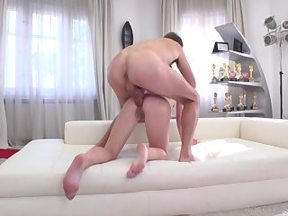 Amateur feels on Easy Street in the ass the hard uniformly