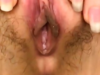Close up twat ID on cam