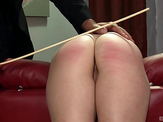 Rough spanking makes Tarra Wan wet together with craves for bonking