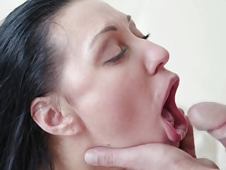 Nice fucking ends round cum in mouth be useful to mature wife Eva Ann