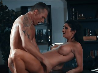 On the mark brunette with big tits fucking 4 wmv