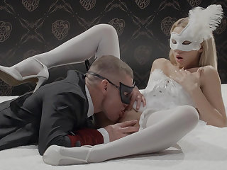 Comely bunny fucked